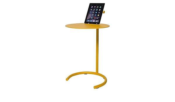 Beistelltisch metall gelb  Lourens Fisher T Tisch Beistelltisch, Metall, gelb: Amazon.de ...