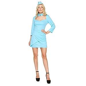 Karnival Mile High Air Stewardess Costume Disfraz Color azul large 81358
