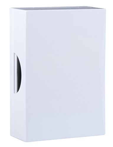 Drahtgebundene Türglocke Byron 771 – Weiß – Klassischer Ton