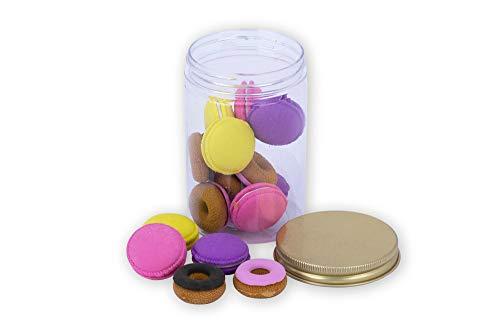 Tri-Coastal Design - Set di 14 Gomme Colorate e Assortite con Forme Divertenti - Perfetto per la Scrivania al Lavoro o a Casa o come Piccolo regalo (donut)