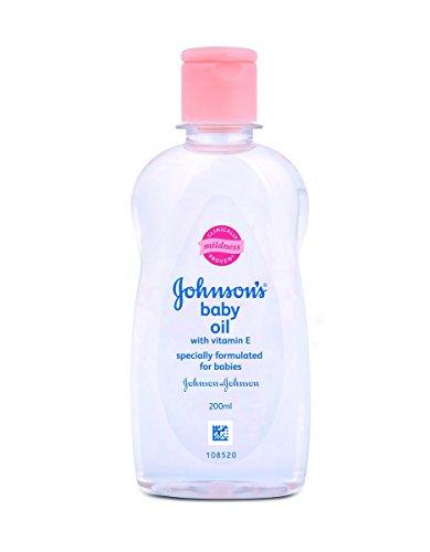 Johnson's Baby Oil with Vitamin E (200ml)