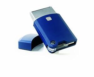 Rasoir de poche USB GO TRAVEL (Bleu)