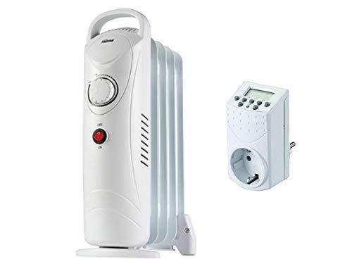 500W Tristar eléctrico Radiador termostato temporizador