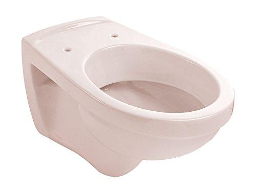 Wand-WC | Tiefspüler | Beige | Toilette | Klo | Hänge-WC | Bad | Badezimmer | Gäste-WC | Keramik