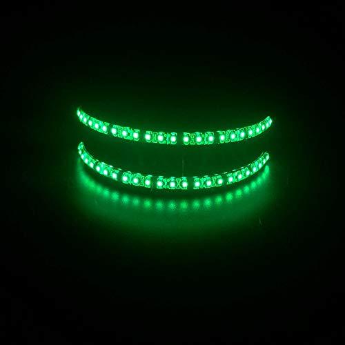 JYYC Coole EL Glow Brille LED-Licht blinkende gestreifte leuchtende Maske Frauen Männer Club Dance Cosplay Partei glühende Supplies Bar Show Decor