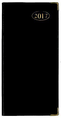 tallon-2017-week-to-view-black-slimline-business-office-diary-3634-black-by-tallon