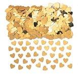 14g Gold Sparkle Herzen Tisch Konfetti–Fab Gold Herz Hochzeitstag Deko Tisch Konfetti X 14g Pack