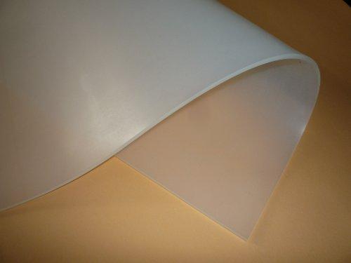 Silikon 60, Silikon-Platte, transparent, 600x 300x 3 mm