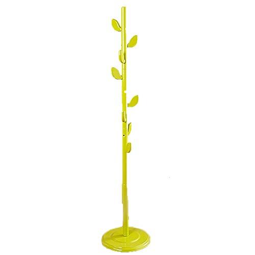JJSFJH Tree Coat Rack Stand - Einfache Montage - Standgarderobe, Kleiderbügel - Coat Tree