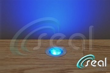 10 x 30mm LED Lights Deck / Decking / Kitchen Plinth BLUE **Now with IP68 Waterproof Transformer** - Seal Designs by Seal Designs