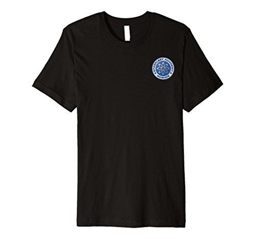 Starfleet Academy Science Badge Blue Graphic T-Shirt