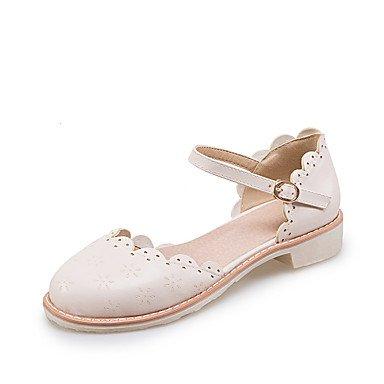 LvYuan Da donna-Sandali-Matrimonio Formale Casual-Altro D'Orsay-Basso-Finta pelle-Rosa Bianco Beige Pink