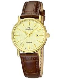 Candino C4490/3 - Reloj analógico de cuarzo para mujer con correa de piel,