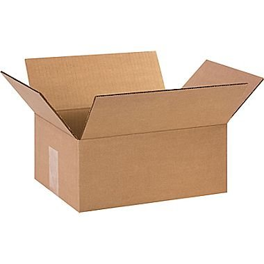 REALPACK® 10 x Boxes Single Wall Size : 12''x9''x5'' - Ideal for Moving House or Just Storing Items Away Free Fast Shipping *Next Day UK Delivery Service*