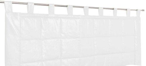 Linder 0523 /10/807/160 Weston Kopfteil, wattiert, Polyester / Baumwolle, 70x160cm, Weiß