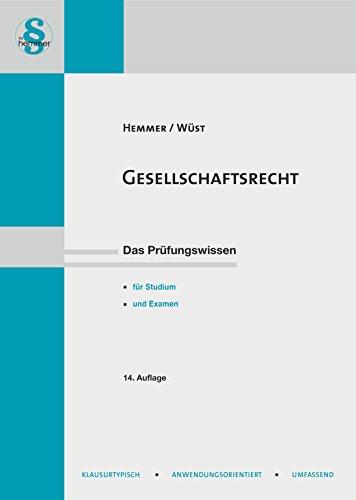 Gesellschaftsrecht (Skripten - Zivilrecht)