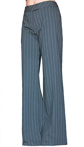 Artigli pantaloni donna pants woman pantalon femme 48 gessato modello uomo ufficio comodo moda