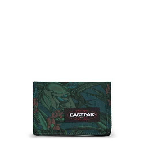 Eastpak crew single portamonete, 14 cm, multicolore (brize mel dark)