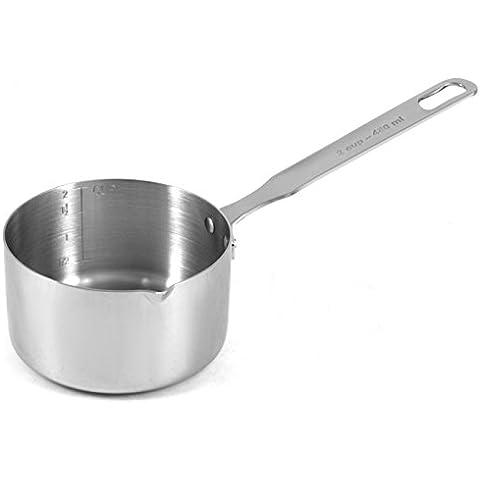 RSVP 2 Cup Measuring Pan/Butter Warmer Sauce Pot Saucepan Stainless Steel New