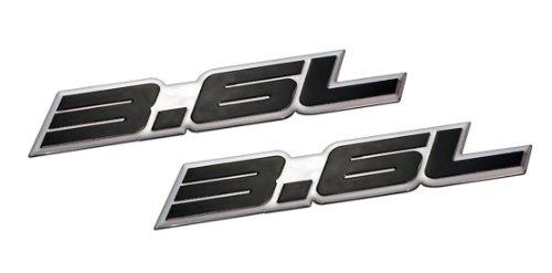 2-x-pair-set-36l-liter-embossed-black-on-highly-polished-silver-real-aluminum-auto-emblem-badge-name