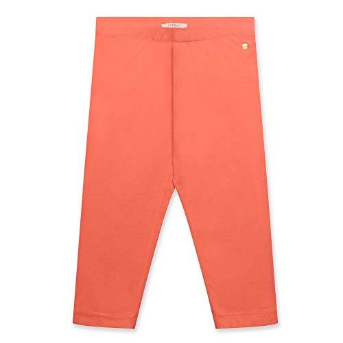 ESPRIT KIDS Mädchen Capri Leggings, Rosa (Coral 323), 140 (Herstellergröße: S) (Heiße Mädchen Leggings)