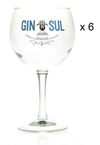 GIN SUL Ballonglas 6-er Set