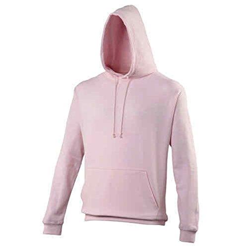 AWDis -  Felpa con cappuccio  - Uomo Baby Pink X-Large