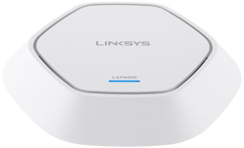 Linksys LAPN-600-EU N600 Access Point (600 Mbit/s, PoE, MIMO 2x2, Dual Band) weiss -