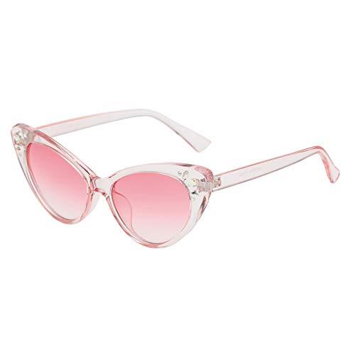 Syeytx Frauen Vintage Mode Brillen Retro Brillen Strahlenschutz 7 Farben