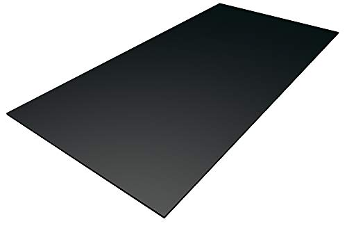 tten schwarz 500 x 500 x 3 mm zum Basteln, für Modellbau, Möbelverblendung, Laubsägearbeiten, Schilder, Werbetafeln ()