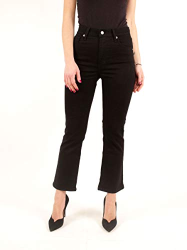 Levi's  ® Mile High Crop Flare W Jeans Black Sheep (Flare Pants)