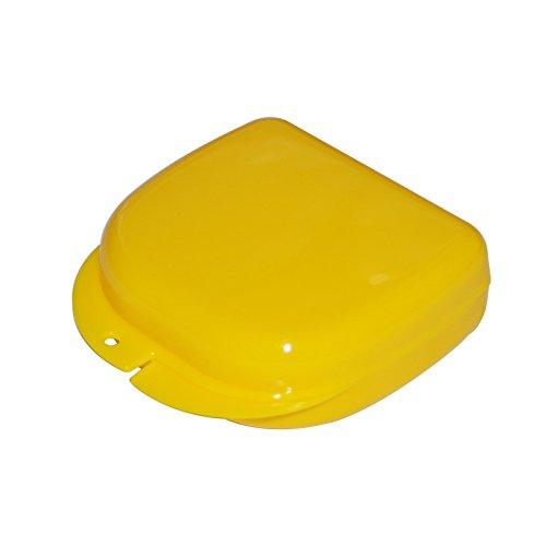 carejoy Dental Kieferorthopädische Retainer Box Case, für die Zahnersatz/Aufnahme/Sport Guard/Korsett/Zähne Mund Tablett/Splint
