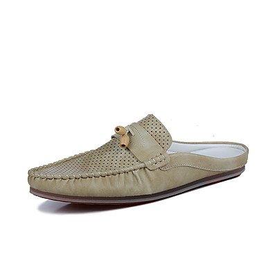 Slippers & amp da uomo;Primavera Estate PU comfort Sandali Casual sandali US7.5 / EU39 / UK6.5 / CN40