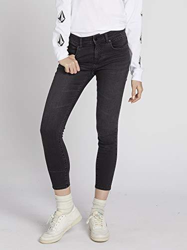 Volcom Jeans Rockout Iii Skinny - Damen Jeans - Vintage Black -