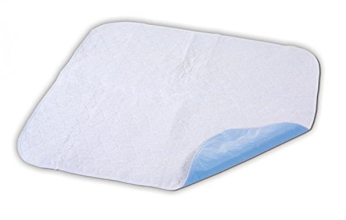 Essential Medical Supply Quik Sorb 34 x 35 Quilted Birdseye Reusable Underpad by Essential Medical Supply (Sorb Underpad)