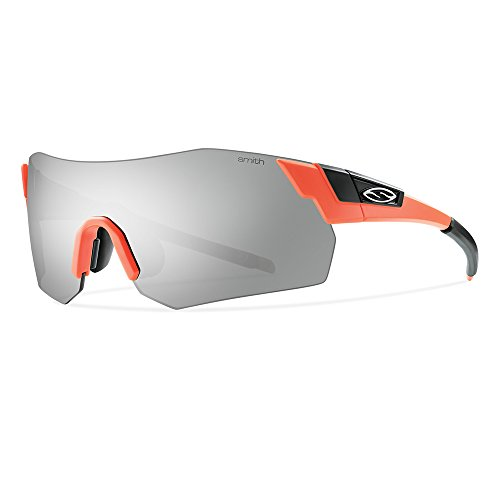 Smith Erwachsene Sonnenbrille Sportbrille Pivlock Are Max, Safty Orange, L
