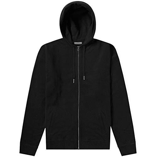 Versace Kollektion Basis Hoodie schwarz Black SMALL