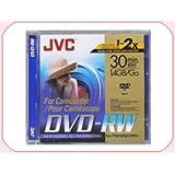 JVC DVD-RW 1.4Go 8cm Pack de 3 mini dvd pour camescope disque vierge 3VD-W14DUPK3