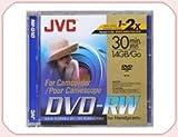 JVC Pack von 5DVD-RW Camcorder 1,4GB 30min re-inscriptible Geschwindigkeit X2