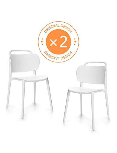 Suhu Stuhl Retro 2er Set Esszimmerstühle Esszimmer Designer Sessel Esstisch Stühle Modern...