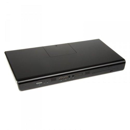 In Mini-itx-gehäuse Win (IN WIN Development K1 Thin Mini-ITX 120 Watt schwarz, K1-HTPC (BLACK))