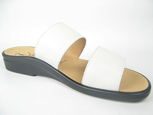 Ganter SONNICA Weite E Damen Pantoletten Weiß