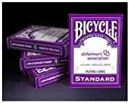 Bicycle Alzheimer (Jeu de 54 cartes Format Poker) | De Haute Sécurité