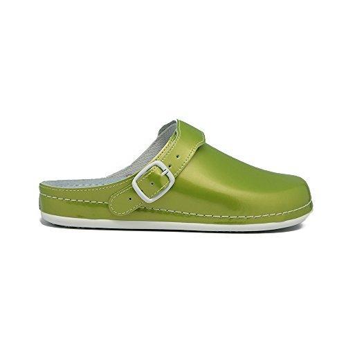 "AWC Femme Chaussures de travail ""Surbaissée"" Vert"
