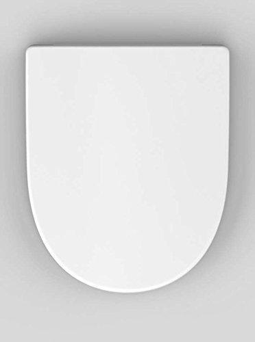 Preisvergleich Produktbild Haro Madeira SoftClose WC-Sitz, weiß, Scharnier Klappdübel C0102G; 530202; passend zu Keramag 4U/iCon