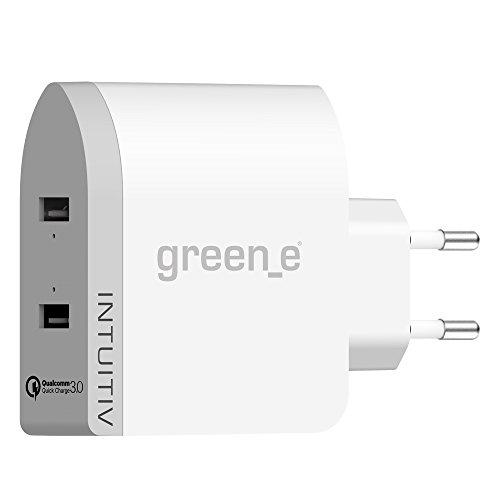 green-e-caricabatterie-usb-intelligente-e-molto-rapido-riciclabile-quick-charge-30-certificato-qualc