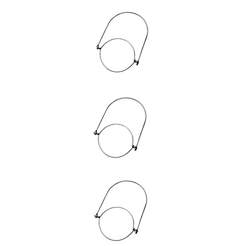 AAGOOD 3pcs Edelstahldraht Mangos (Griff-Ease) Mason Jar, Jar Kugel Pint Einmachgläser, weckglas Kleiderbügeln und Haken mounth Beschichtete Pint Mason Jar