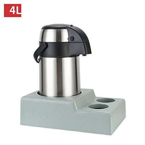 Preisvergleich Produktbild MGE Thermoskannen Airpot,  Außenpumpen-Aktion-Wärmflasche mit Pumpenmechanismus aus Edelstahl für heiße kalte Flüssigkeiten 2.5 / 3 / 4 / 5L (größe : 17x39.5cm)