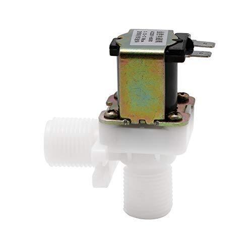 BIlinli AC 220 V Elektromagnetventil Magnetisch N/C Wasser Luft Einlass Durchfluss 1/2