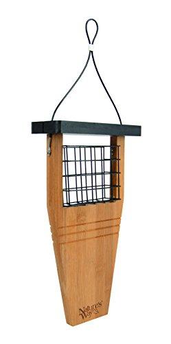 Nature 's Way Vogel Produkte bwf1Bambus Talg Schwanz Prop Futterhaus -